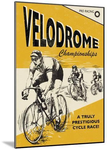 Velodrome-Rocket 68-Mounted Giclee Print