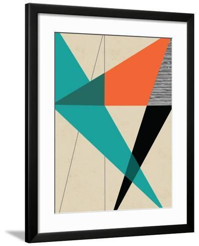 Diagonal Unity-Rocket 68-Framed Art Print