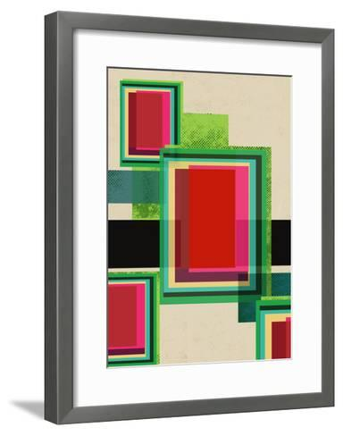 Luminous Merge-Rocket 68-Framed Art Print