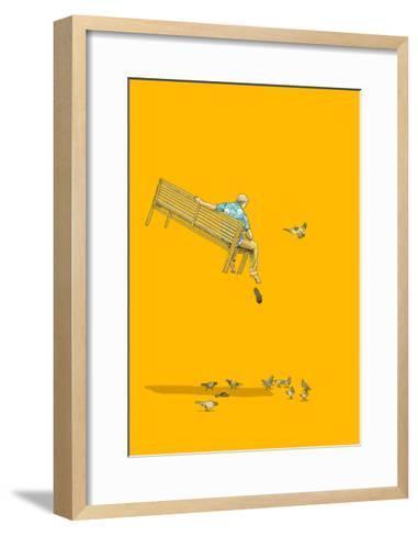 With the Pigeons-Jason Ratliff-Framed Art Print
