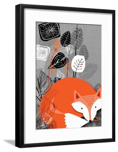 Fox-Rocket 68-Framed Art Print