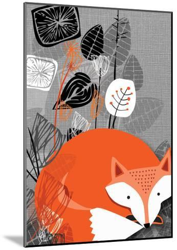 Fox-Rocket 68-Mounted Giclee Print