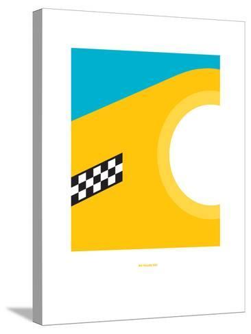 Big Yellow Taxi: Joni Mitchell-Christophe Gowans-Stretched Canvas Print