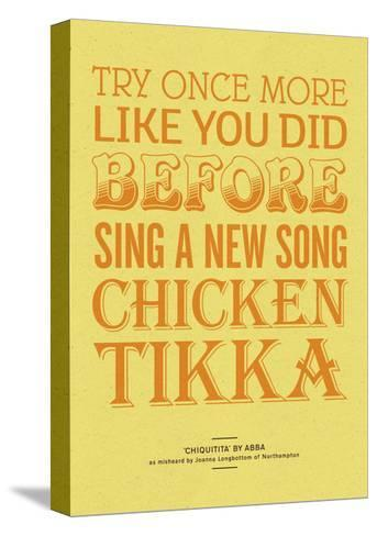 Sing a New Song Chicken Tikka-Peter Reynolds-Stretched Canvas Print