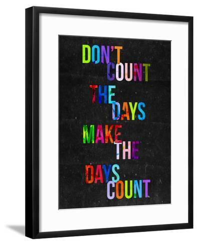 Don't Count the Days-Fimbis-Framed Art Print