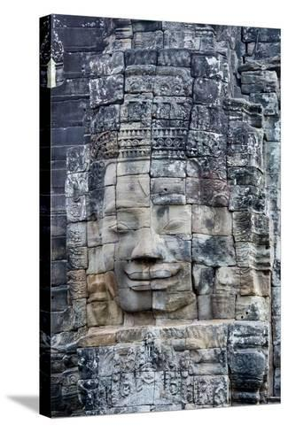 Bayon Temple, Angkor Wat, Siem Reap, Cambodia-Paul Souders-Stretched Canvas Print