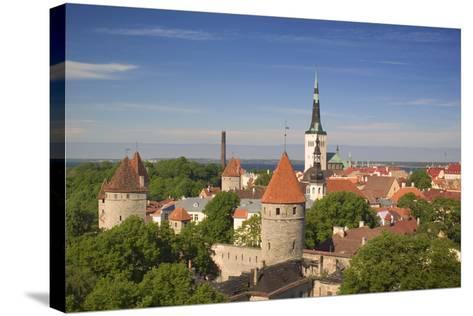Tallinn-Jon Hicks-Stretched Canvas Print