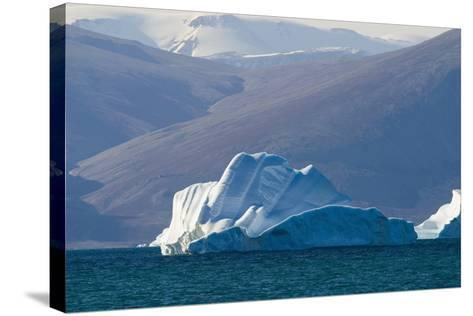 Iceberg near the Coastline-DLILLC-Stretched Canvas Print