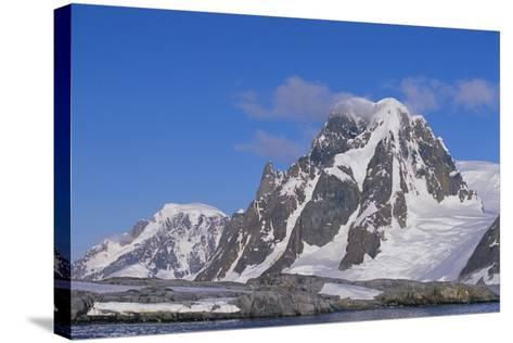 Mountains Rising from the Sea-DLILLC-Stretched Canvas Print