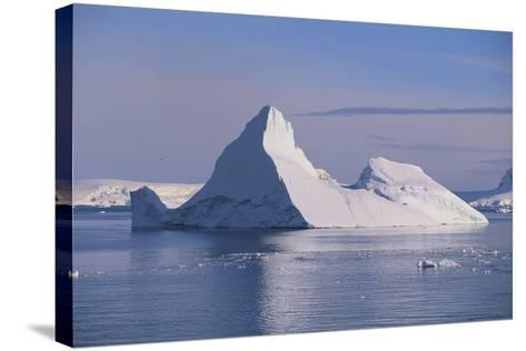 Iceberg-DLILLC-Stretched Canvas Print