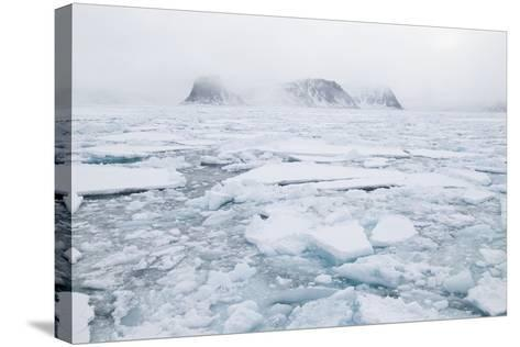 Sea Ice Surrounding Islands-DLILLC-Stretched Canvas Print