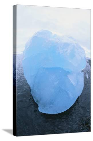 Iceberg Washed Ashore-DLILLC-Stretched Canvas Print