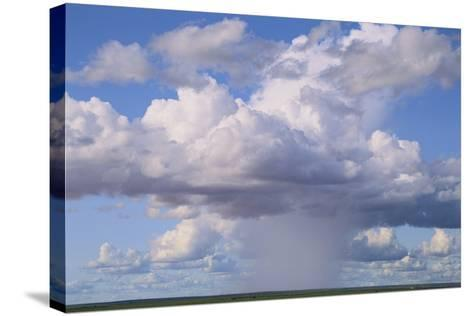 Cumulus Clouds Forming a Rainstorm-DLILLC-Stretched Canvas Print