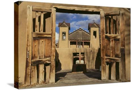 Santuario De Chimayo-DLILLC-Stretched Canvas Print