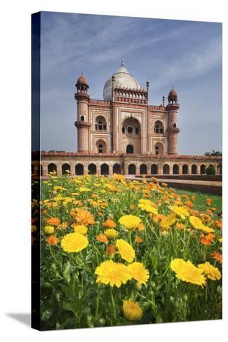 Safdar Jang's Tomb-Jon Hicks-Stretched Canvas Print