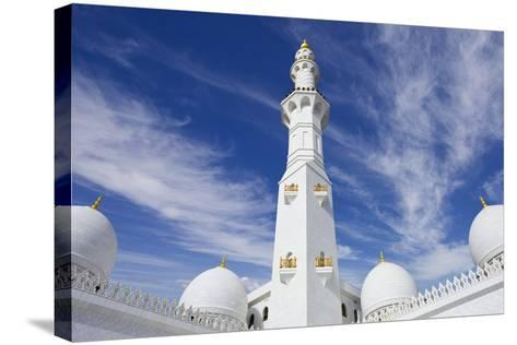 The Grand Mosque.-Jon Hicks-Stretched Canvas Print