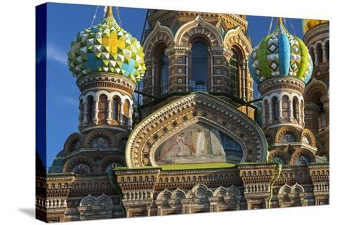 The Church of the Spilled Blood.-Jon Hicks-Stretched Canvas Print