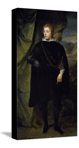 Portrait of Charles I Louis--Stretched Canvas Print