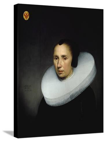 Portrait of Emerentia Van Driel--Stretched Canvas Print