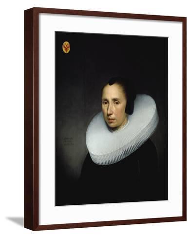 Portrait of Emerentia Van Driel--Framed Art Print