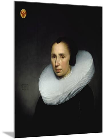 Portrait of Emerentia Van Driel--Mounted Giclee Print