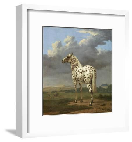 The Piebald Horse by Paulus Potter--Framed Art Print