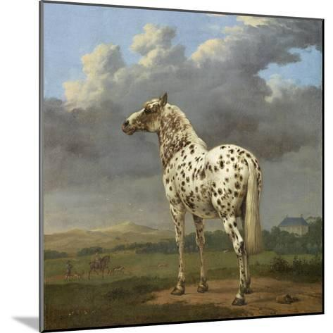 The Piebald Horse by Paulus Potter--Mounted Giclee Print