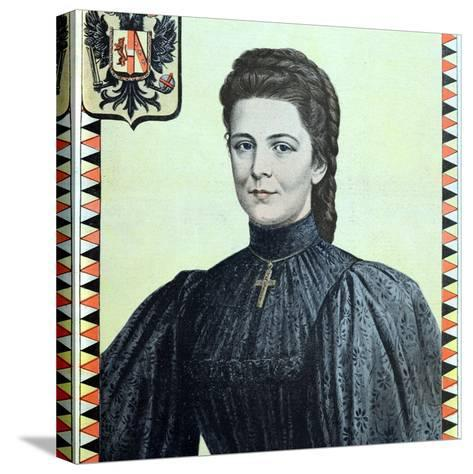 Empress Elisabeth of Austria 1937-98-Chris Hellier-Stretched Canvas Print