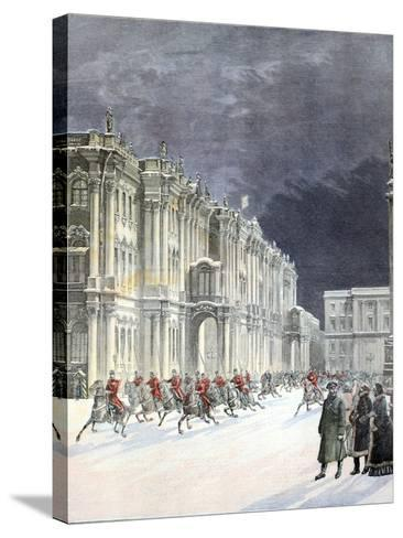 Winter Palace Saint Petersburg 1897-Chris Hellier-Stretched Canvas Print