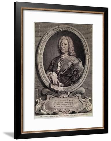 Portrait of Johann Bernouilli--Framed Art Print