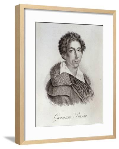 Portrait of Giovanni Pacini--Framed Art Print