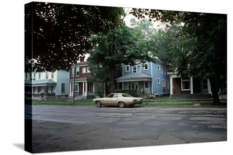 Suburbs of Richmond, Indiana, Usa, 1979-Alain Le Garsmeur-Stretched Canvas Print