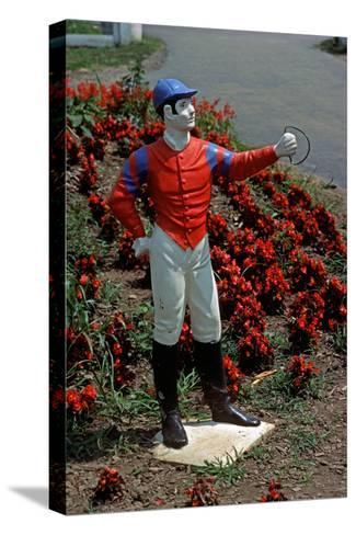 Jockey Horse Hitching Posts, Lexington, Kentucky, Usa, 1984-Alain Le Garsmeur-Stretched Canvas Print