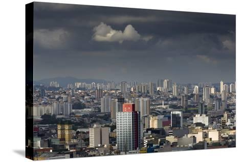 Sao Paulo Skyline, Brazil.-Jon Hicks-Stretched Canvas Print