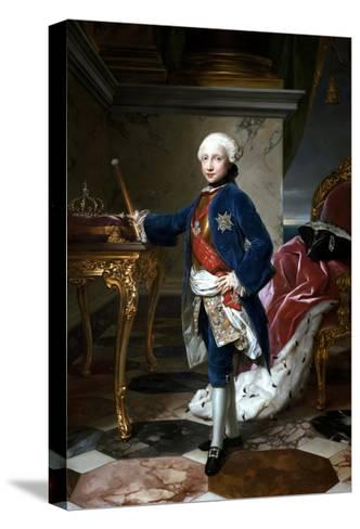 Portrait of Ferdinand I of the Two Sicilies--Stretched Canvas Print