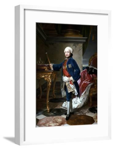 Portrait of Ferdinand I of the Two Sicilies--Framed Art Print