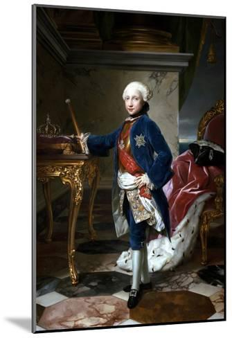 Portrait of Ferdinand I of the Two Sicilies--Mounted Giclee Print