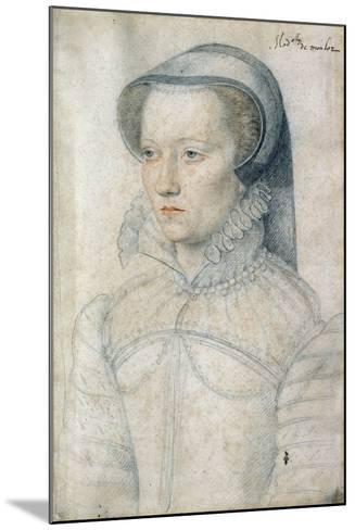 Portrait of Diane De Clermont, Demoiselle Montlaur - by Francois Clouet--Mounted Giclee Print