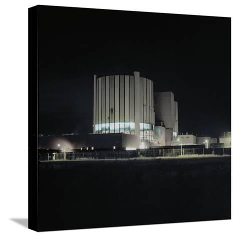 Nuclear Power Plant-Robert Brook-Stretched Canvas Print