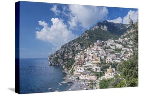 Positano-Rob Tilley-Stretched Canvas Print