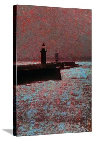 By the Sea-Andr? Burian-Stretched Canvas Print