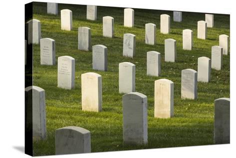 Arlington National Cemetery, Virginia, Usa.-Jon Hicks-Stretched Canvas Print