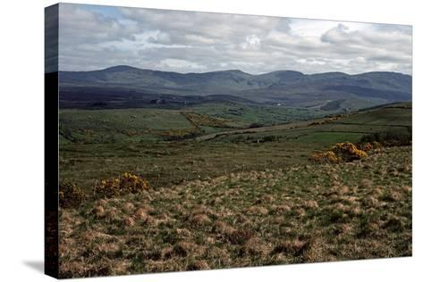 BLUE STACK Mountains, Donegal, IRELAND-Alain Le Garsmeur-Stretched Canvas Print