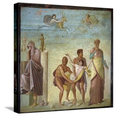 Roman Art : the Sacrifice of Iphigenia--Stretched Canvas Print