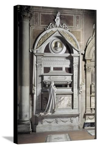 Monument to Gioacchino Rossini, by Cassioli--Stretched Canvas Print