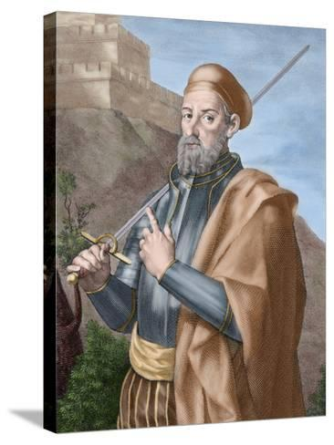 Diego Garcia a De Paredes (1468-1533)-Tarker-Stretched Canvas Print