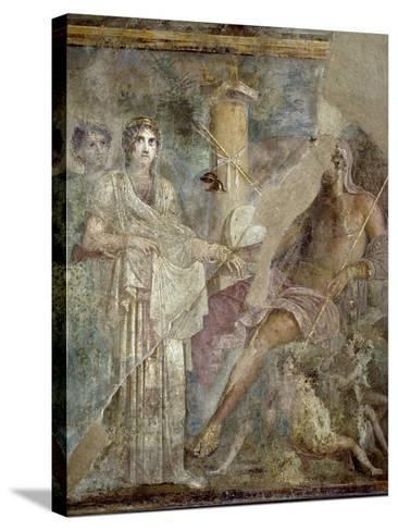 Roman Art : the Wedding of Zeus and Hera on Mount Ida--Stretched Canvas Print