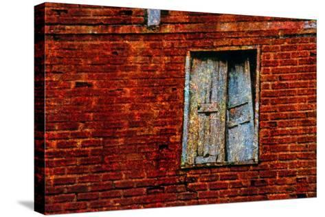 Broken Window-Andr? Burian-Stretched Canvas Print