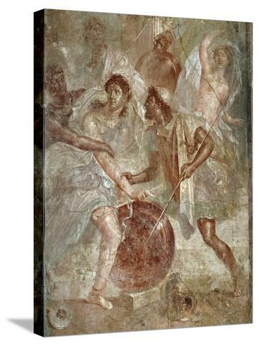 Ulysses and Diomedes Recognizing Achilles--Stretched Canvas Print