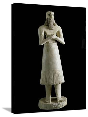 Mesopotamian Art : Figure of the Abu Deity--Stretched Canvas Print